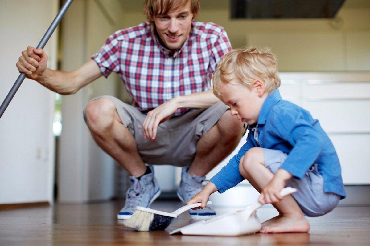 Развитие аккуратности у ребенка при помощи бытовых дел