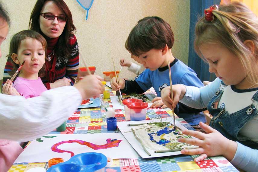 Творческая мастерская для детей поделки 37