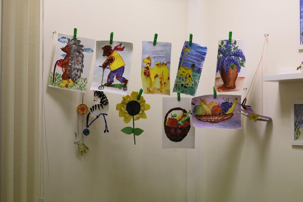 Работы учеников творческой мастерской